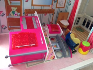 Doll House Mess