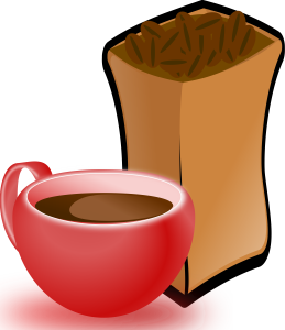 momoko-Cup-of-Coffee-with-Sack-of-Coffee-Beans-4